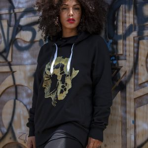 Duodu London Face of Africa Hoodie 1 copy