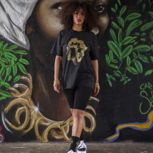 Duodu London Face of Africa T-Shirt 2 copy