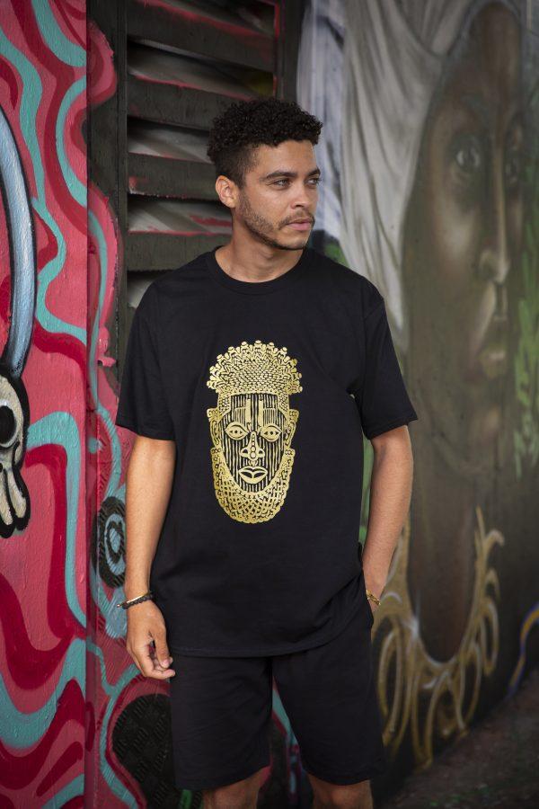 Duodu London Mask T-Shirt 2 copy