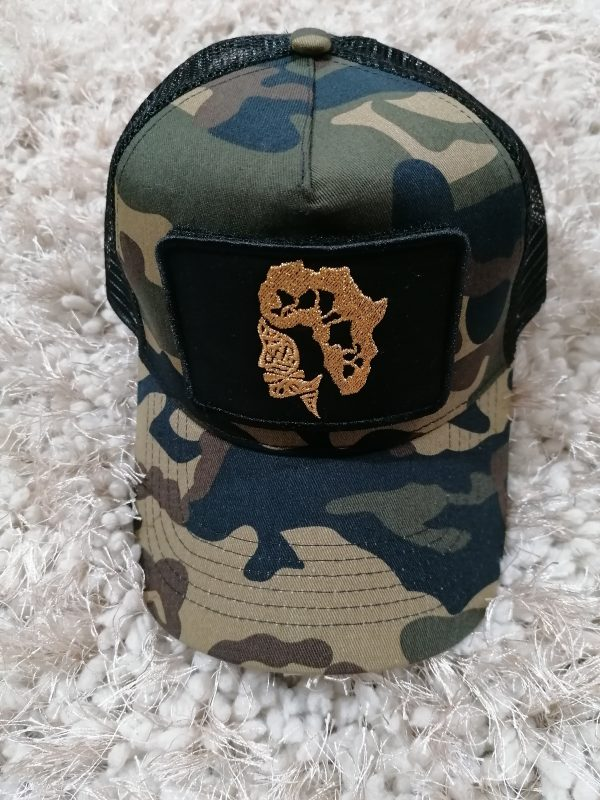 doudu london Africa baseball cap camo 4