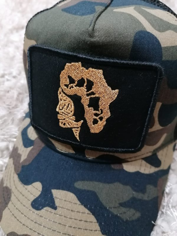 doudu london Africa baseball cap camo 6