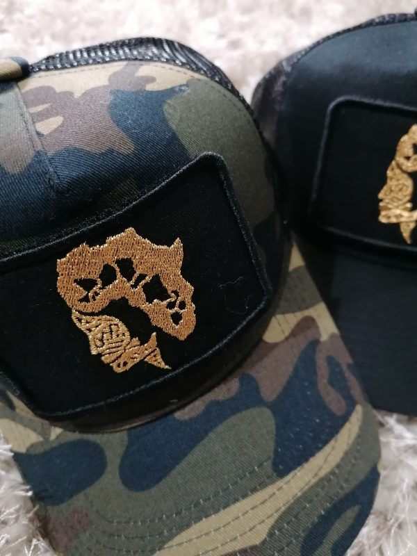 doudu london Africa baseball cap camo 8