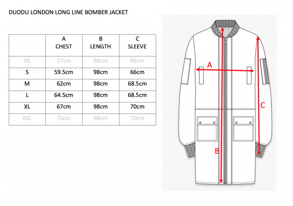 duodulondon long line bomber guide jul2020